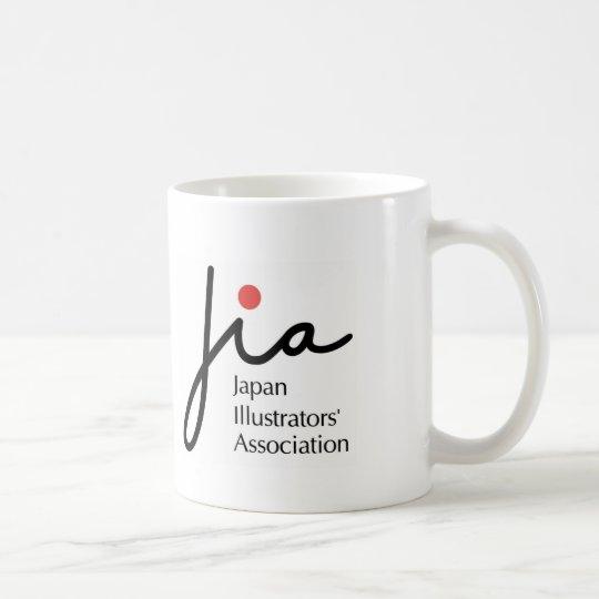 JIAロゴ入りマグカップ コーヒーマグカップ