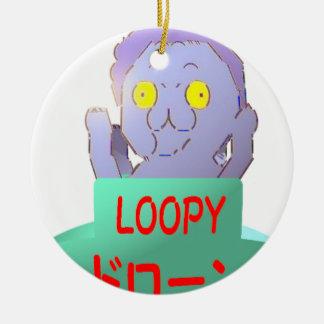 LOOPY セラミックオーナメント