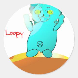 LOOPY 丸形シール・ステッカー