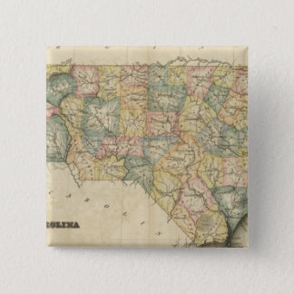 N番目カロライナ 5.1CM 正方形バッジ