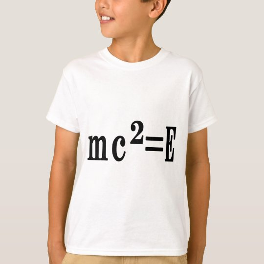 mc²=E Tシャツ