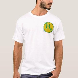 0を拒絶して下さい Tシャツ