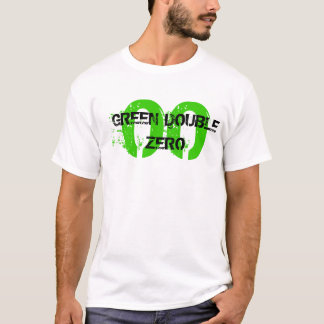 00の緑の倍ゼロ Tシャツ