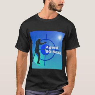 00セクシーな代理店 Tシャツ