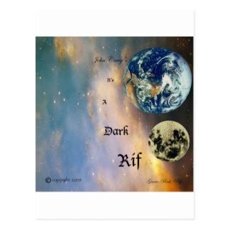 001暗闇のRifのアルバムカバー(前部) ポストカード