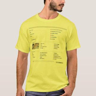 001 Tシャツ