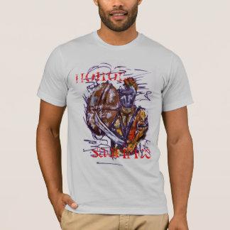 002の名誉、犠牲 Tシャツ