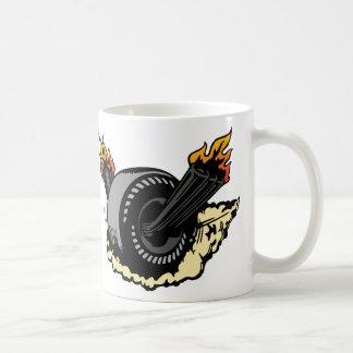 00297非常に熱い車輪 コーヒーマグカップ
