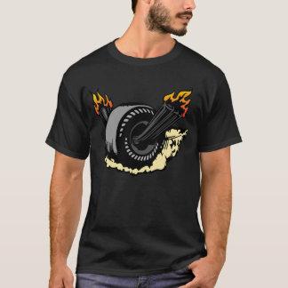 00297非常に熱い車輪 Tシャツ