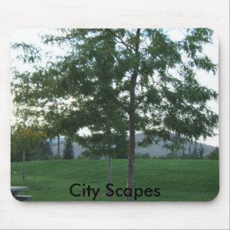 003の都市Scapes マウスパッド