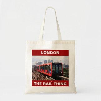 00601ロンドン: その柵の事: CTCの買い物袋 トートバッグ