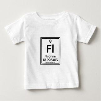 009フッ素 ベビーTシャツ