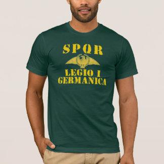 01ガイウス・ユリウス・カエサルの第1 Germanica軍隊-ローマ Tシャツ