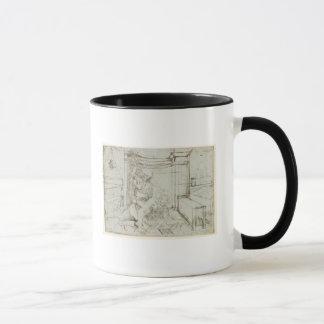 01147ルートビッヒウィルヘルムのBaden 1705年の計算 マグカップ
