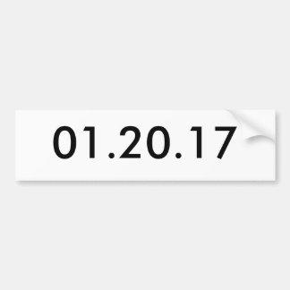 01.20.17 バンパーステッカー