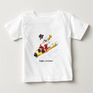 01_sledge ベビーTシャツ