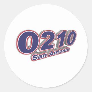 0210サン・アントニオ ラウンドシール