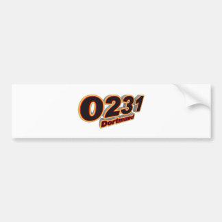 0231ドルトムント バンパーステッカー