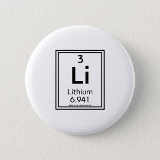 03リチウム 5.7CM 丸型バッジ