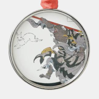 031 -ヒスイのウサギ(Gyokuto) .jpg メタルオーナメント