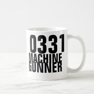 0331機械射撃手 コーヒーマグカップ