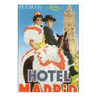 056.jpg_Sevillaホテルマドリード ポストカード