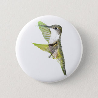 07-20-06 Hummingbirds0033ac 5.7cm 丸型バッジ