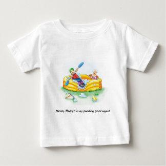 07_paddling_pool ベビーTシャツ