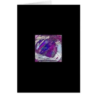 08抽象的なデジタル無題の芸術 カード