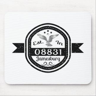 08831 Jamesburgに確立される マウスパッド