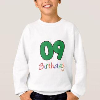 09誕生日 スウェットシャツ
