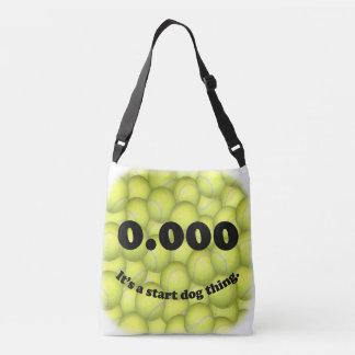 0.000、完全な開始、それは開始犬の事です! クロスボディバッグ