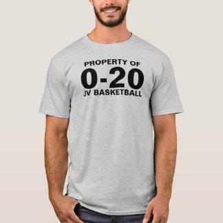 0-20バスケットボール Tシャツ