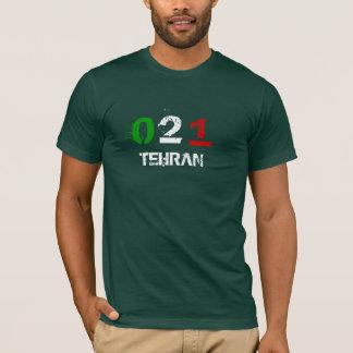 0、2、1、テヘラン Tシャツ