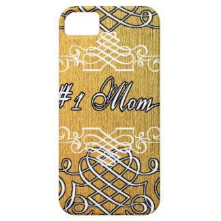 #1お母さんの金タイポグラフィの母の日 iPhone SE/5/5s ケース