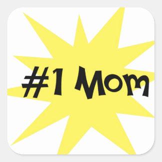 #1お母さん スクエアシール
