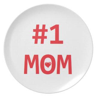#1お母さん プレート