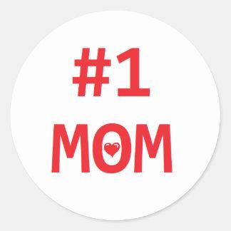 #1お母さん ラウンドシール