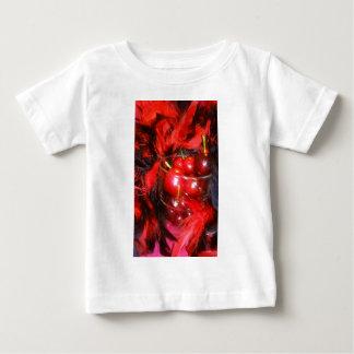 1さくらんぼ ベビーTシャツ