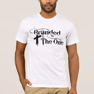 1つによって決め付けられる Tシャツ