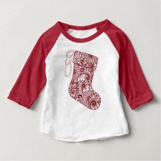 1つに貯蔵するクリスマス ベビーTシャツ