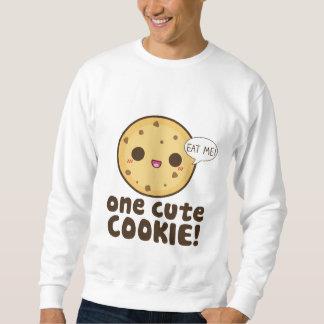 1つのかわいいクッキー! スウェットシャツ