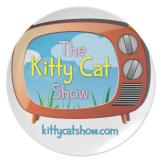 1つのための子猫猫ショーの糖菓およびすべて! プレート