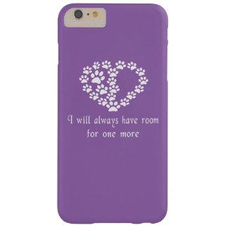 1つのための部屋もっと BARELY THERE iPhone 6 PLUS ケース
