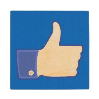 1つのように、青い ウッドコースター