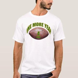 1つのより多くの年- Favre Tシャツ