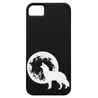1つのオオカミの月 iPhone SE/5/5s ケース