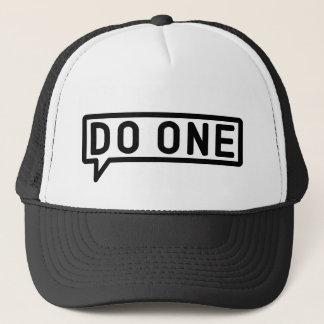 1つのマンチェスターのMancunian俗語のトラック運転手の帽子をして下さい キャップ
