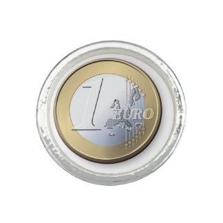 1つのヨーロッパの硬貨のリング リング