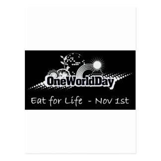 1つの世界日11月1日 ポストカード